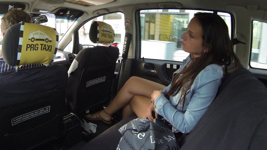Czech Taxi 11 – Pretty pussy is soaking wet with its own juices