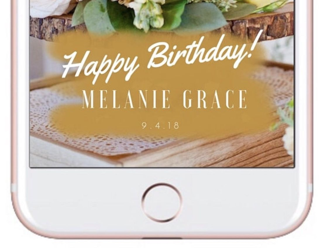 439fe1b42df6edd1ae52b605515f094a - How To Get The Happy Birthday Filter On Snapchat