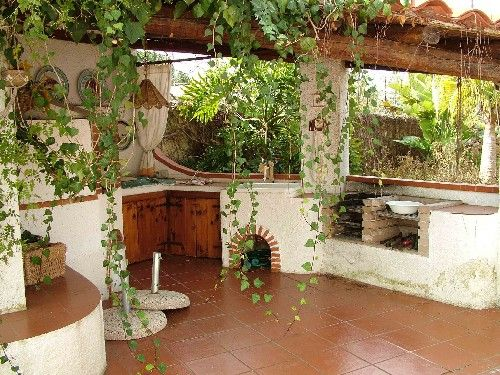 cucina in muratura esterno - Cerca con Google | idee giardino ...