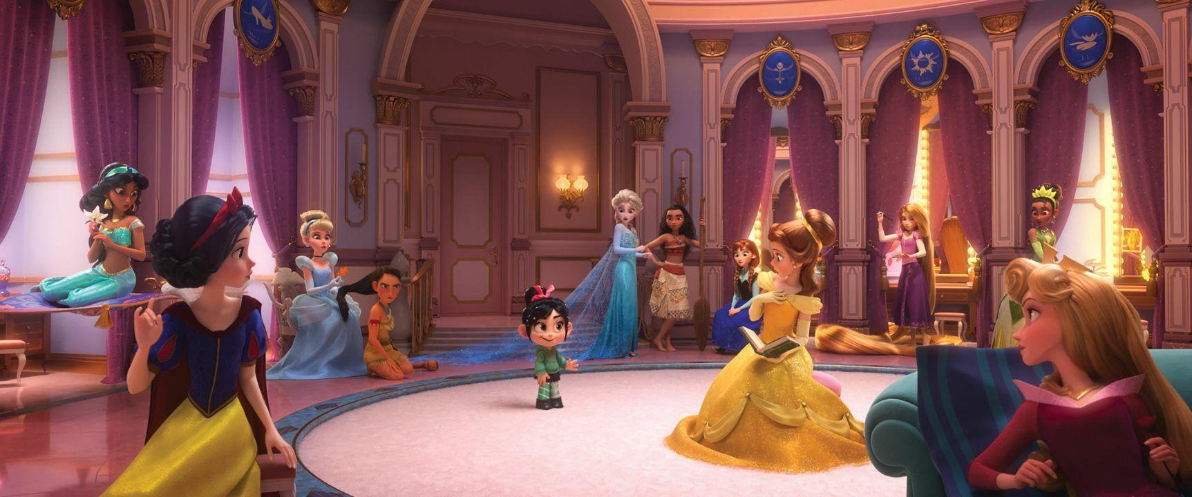 WreckIt Ralph 2 Trailer Brings Disney Princesses, Tech