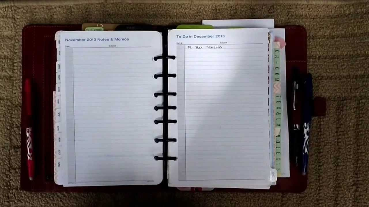 Using Evernote To Archive  Search Filofax  DayTimer  Franklin