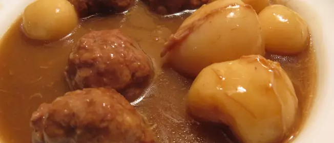 Photo of Recipe: Mommy Meatball Stew
