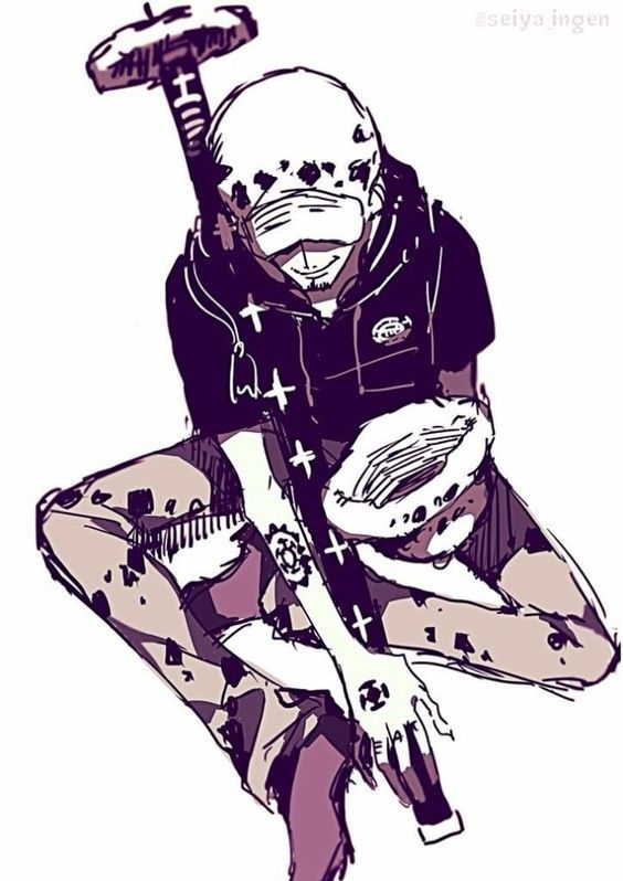 Resultado de imagen de trafalgar d water law