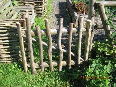 Garden Art · Rustic Gate ...