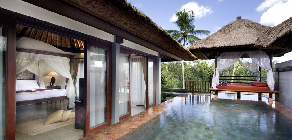 Pool Villa Exterior At The Kamandalu Resort In Ubud Ubud Resort Ubud Bali