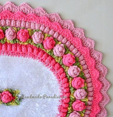 Pin de pratiba gopaldas en crochet doily | Pinterest | Círculos ...