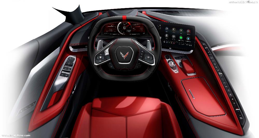 Chevrolet Corvette C8 2020 Interior