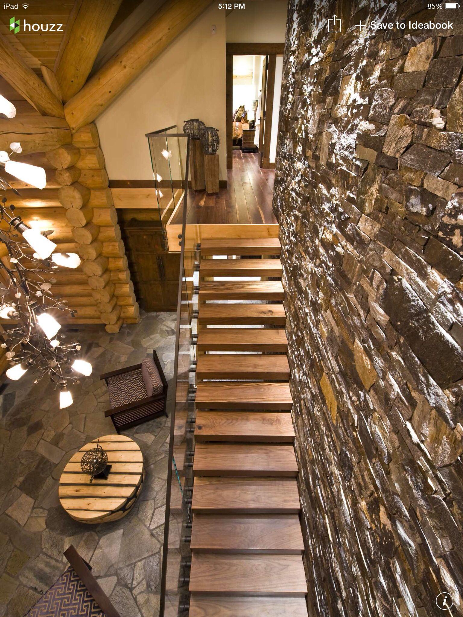 home interior design stairs%0A Okanagan Log HomeInterior DesignCustom Building Design