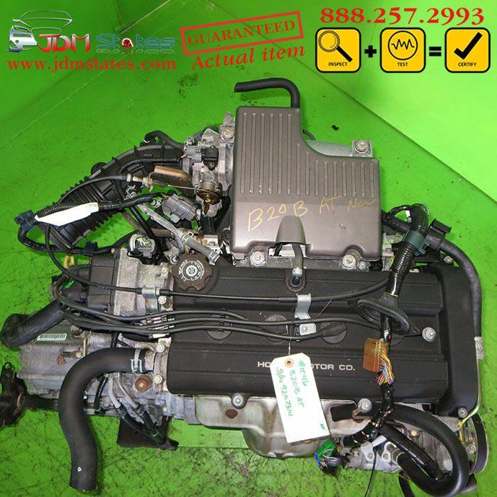 JDM Honda Civic Acura Integra CRV B20B Engine 2W 2.0L 2000