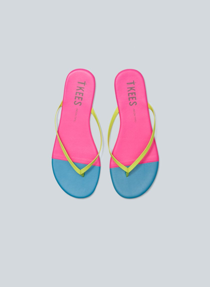 Trove Tkees Leather Flip Flops Now Available At Aritzia