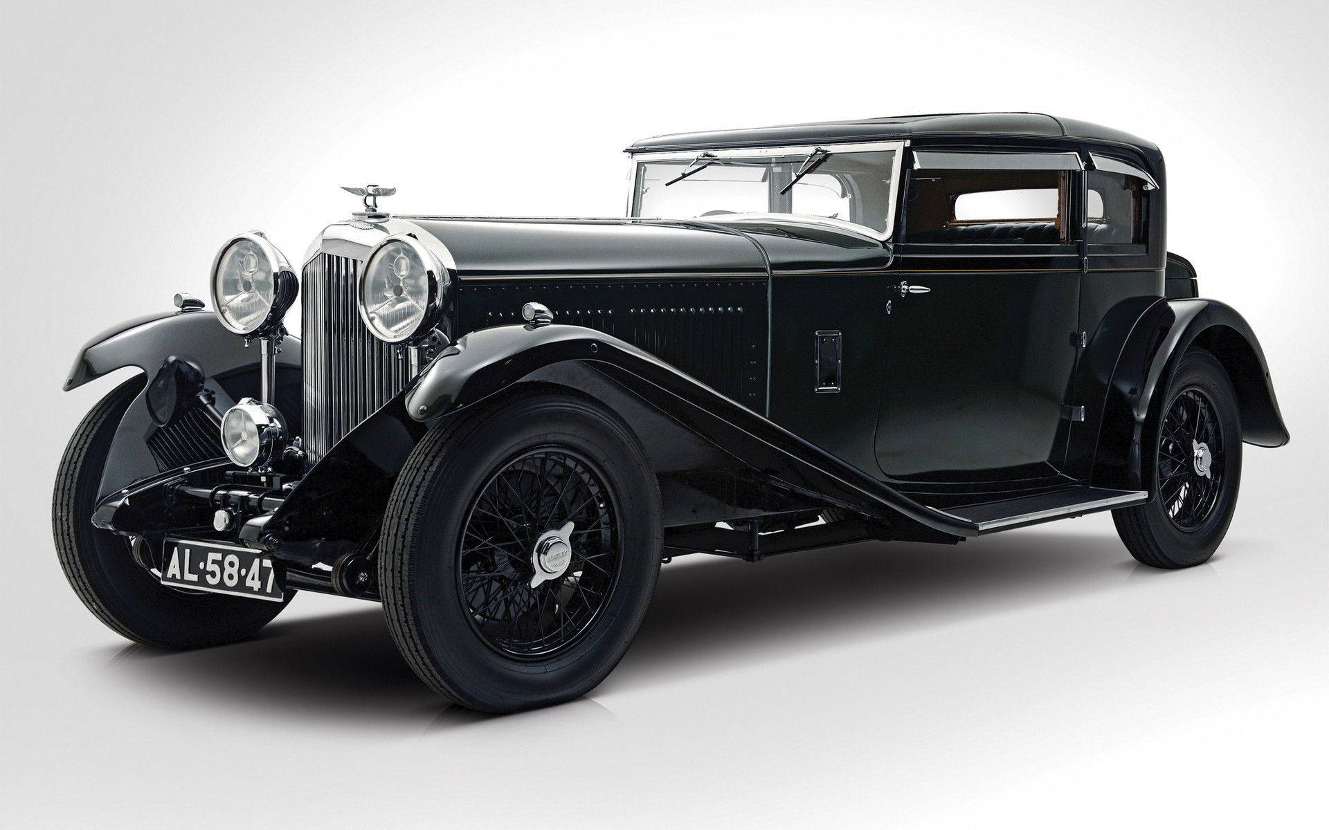 Classic Black Bentley 8 Litre Car Wallpaper Images Free HD #52636829 Wallpaper