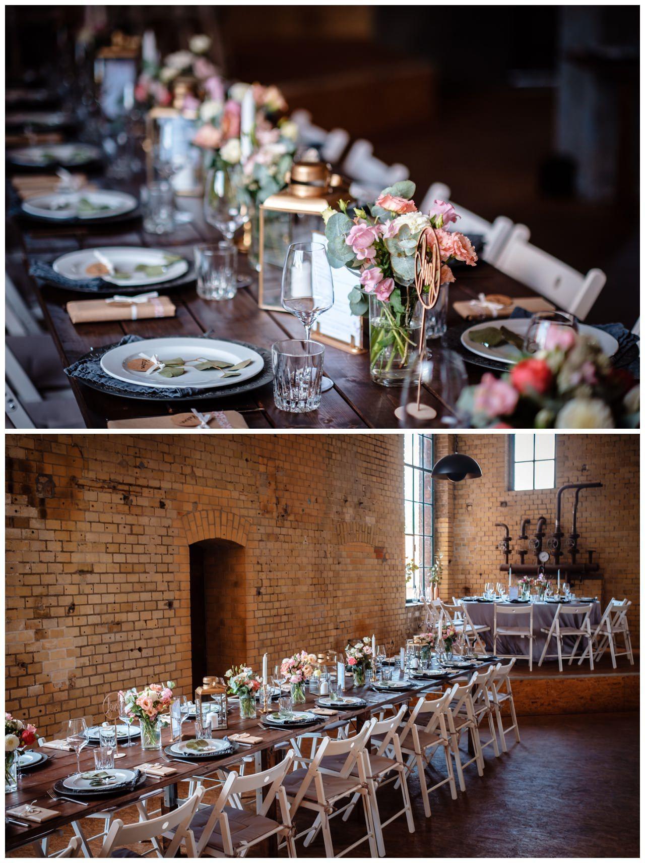 Auf Unserem Blog Zeigen Wir Euch Diese Echte Hochzeit Fabian Und Theresa Heirateten Im Industrial Vintage Stil In D In 2020 Hochzeitsdekoration Hochzeit Hochzeitsdeko