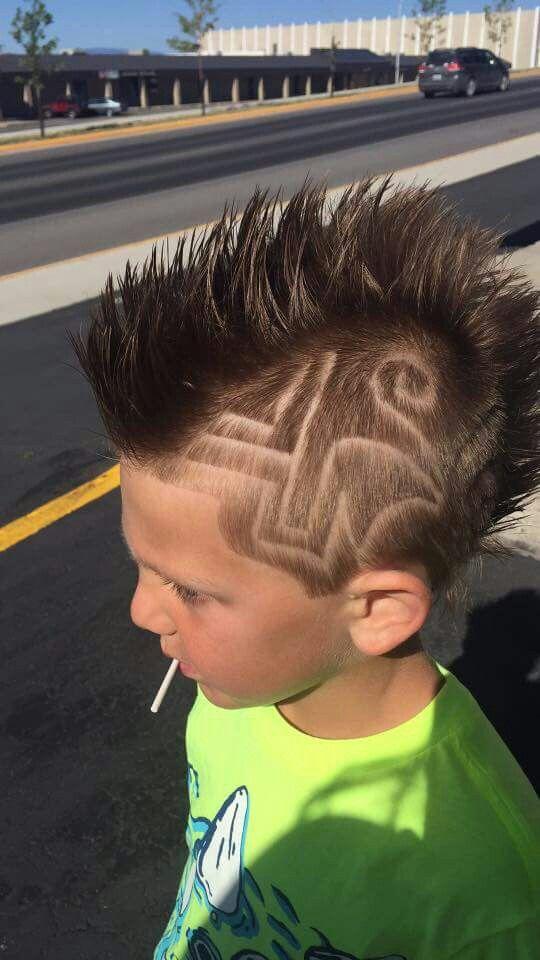 Mohawk With Shaved Designsdass Kids Badass Haircuts