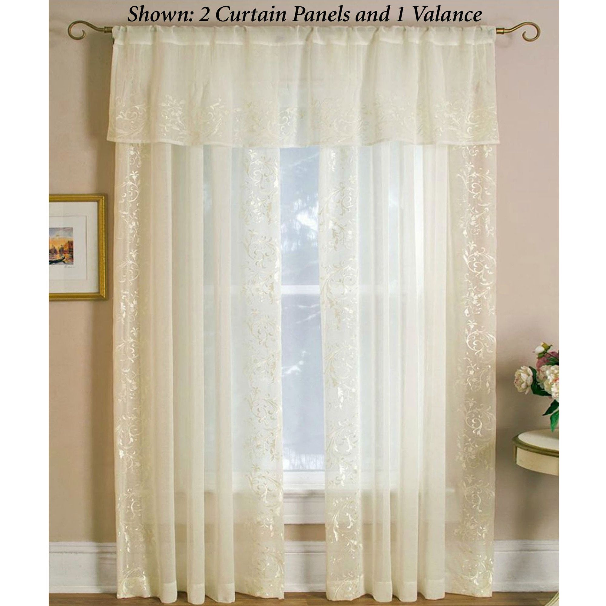 I think I really like this one:  Addison Semi Sheer Window Treatments