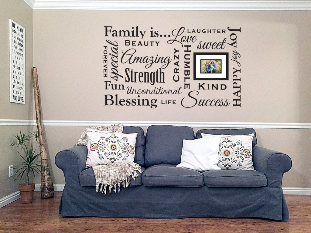 Decorative Signs For The Home Amazing Large Family Values Wall Decal Wall Art Vinyl Sticker Sign Home Design Inspiration