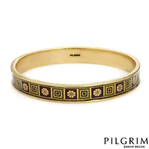 PILGRIM Skanderborg, Denmark Enamel Ladies Bracelet. Length 8.5 in. Total Item weight 35.0 g. PILGRIM Skanderborg, Denmark. $25.00