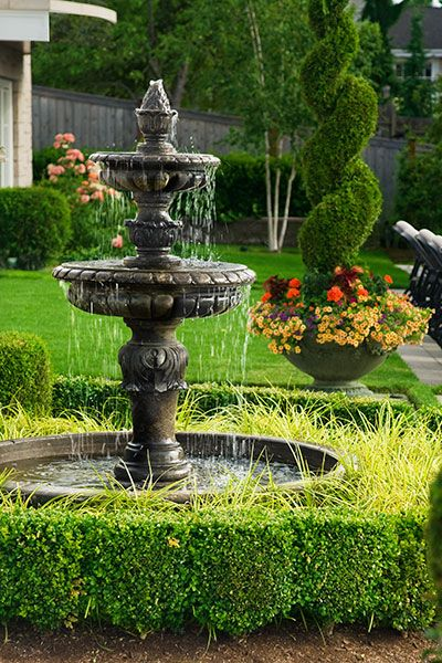 All About Garden Fountains Garden Water Fountains Fountains Backyard Water Fountains Outdoor