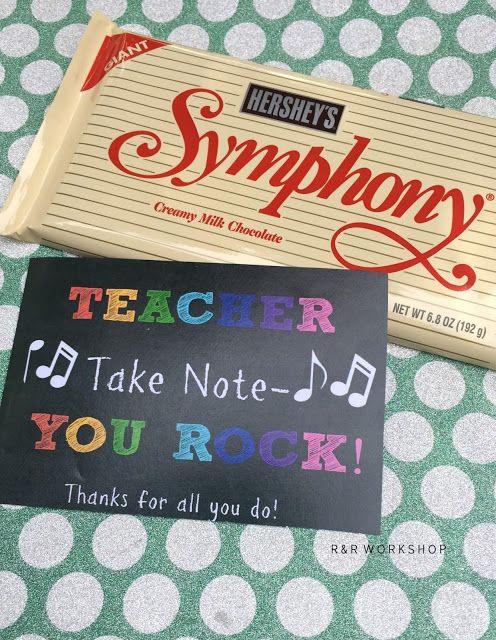 Music Teacher Appreciation gifts