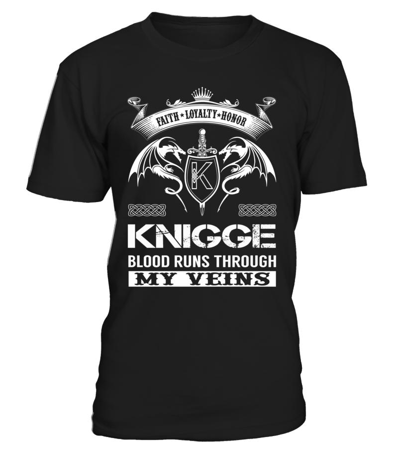 KNIGGE Blood Runs Through My Veins