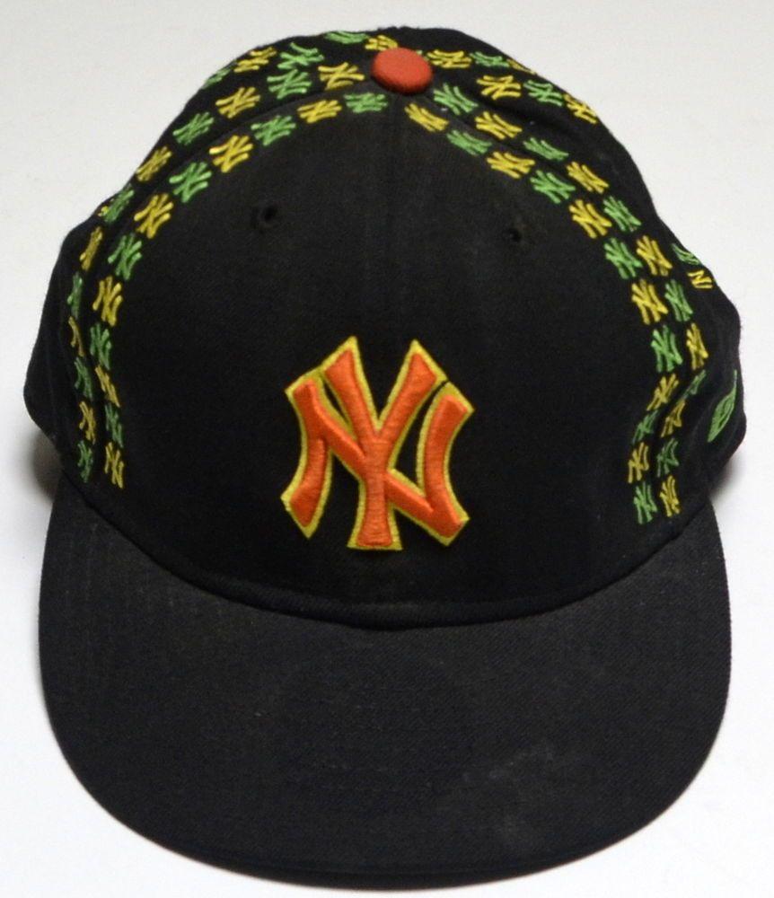 New York Yankees NY Hat Rasta Jamaica Colors New Era Cap Fitted Wool 7 3 4   NewEra  BaseballCap dcdcf111407a