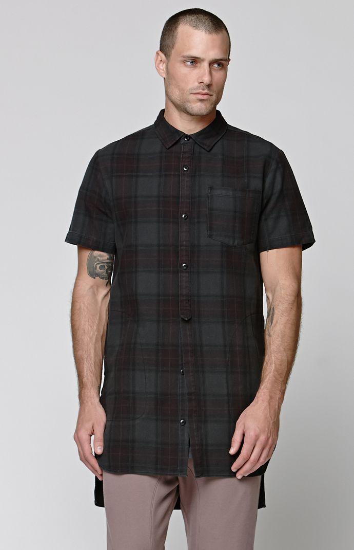 Cut Off Long Shirt
