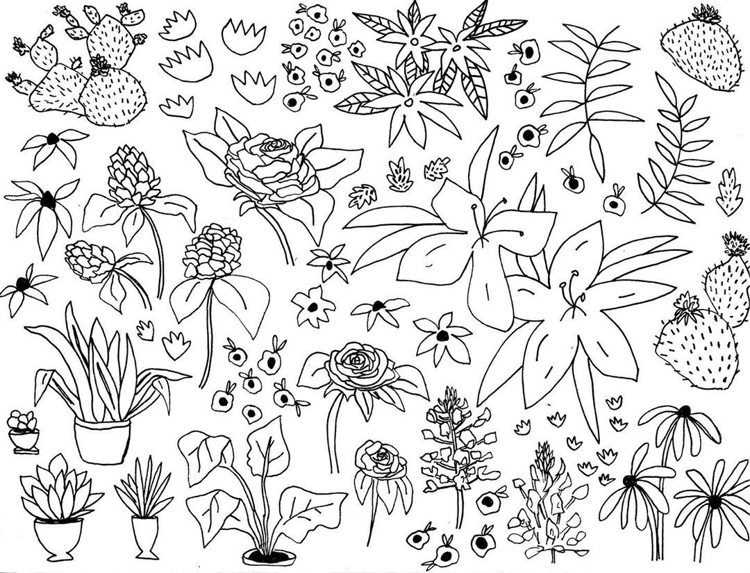 Thesmallcreative Instagram Post New Coloring Sheet With