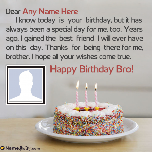 Happy Birthday Whatsapp Status For Brother With Images