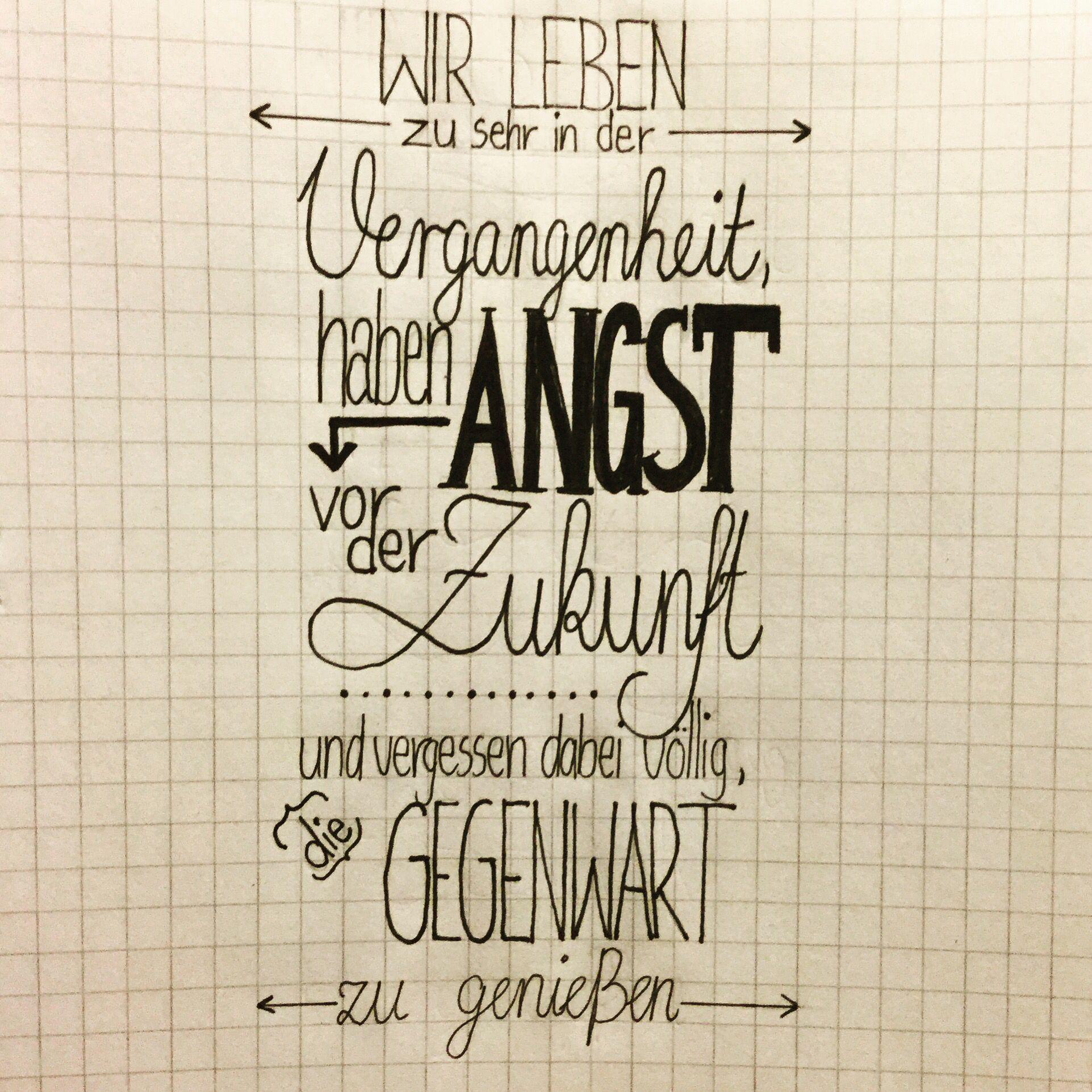 Handlettering Deutsch Spruche Drawing Zukunft Spruche