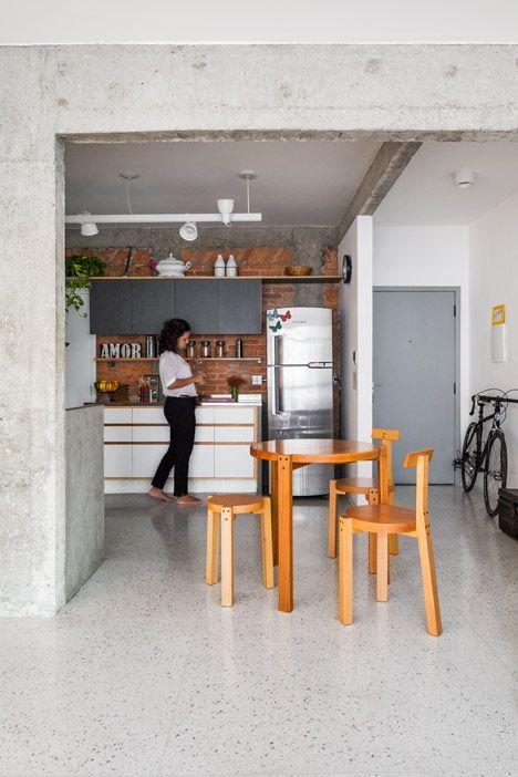 Pompeia apartment by vitro arquitetura kitchen dining for Riviste di arredamento cucine