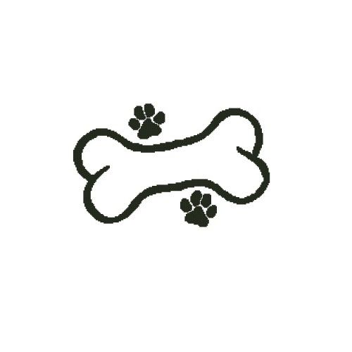 All Stitches Dog Bone And Paws Cross Stitch Pattern Pdf 625