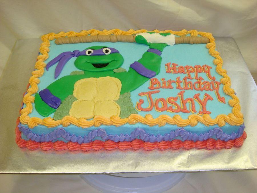 ninja turtles sheet cake - Google Search | Ninja turtle ...