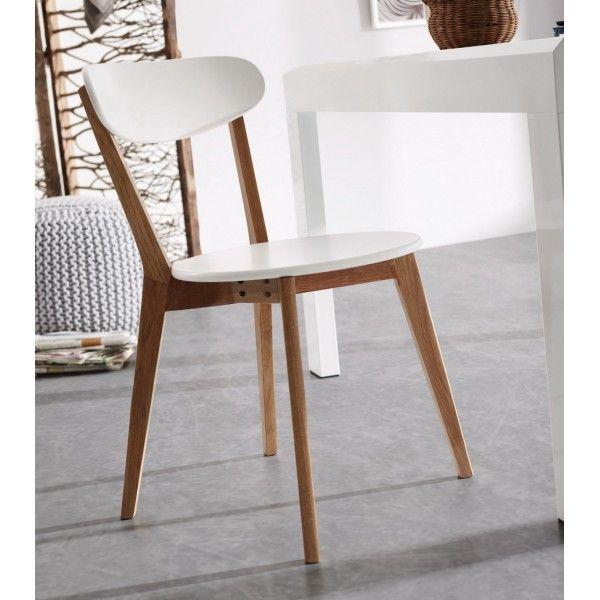 Essenzialità ed eleganza per la sedia HOGUN. Una linea