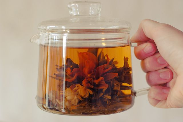 A magical teaflower by Liefgeval.