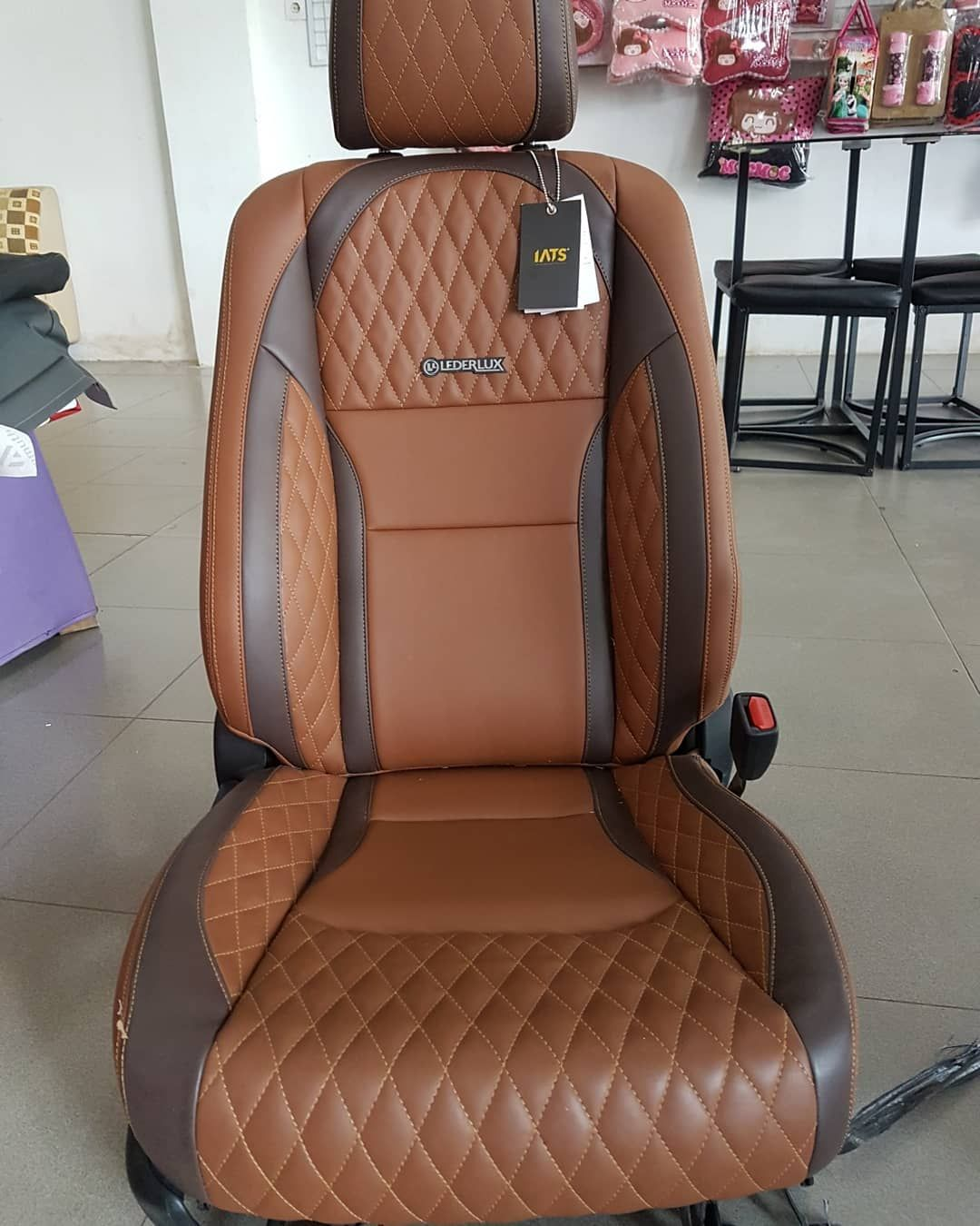 Brown And Black Interior Stitching Grey Seats And Door