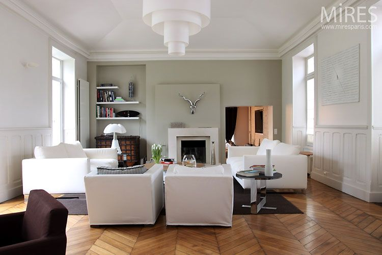 exemple d co entr e maison bourgeoise salons interiors and apartments. Black Bedroom Furniture Sets. Home Design Ideas