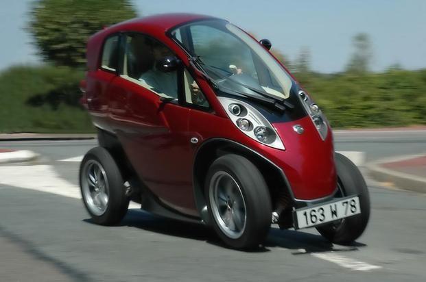 mini elektrische auto