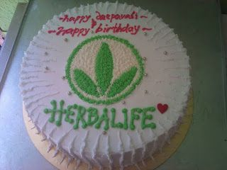 Herbalife Cake Ordered By One Of The Customer