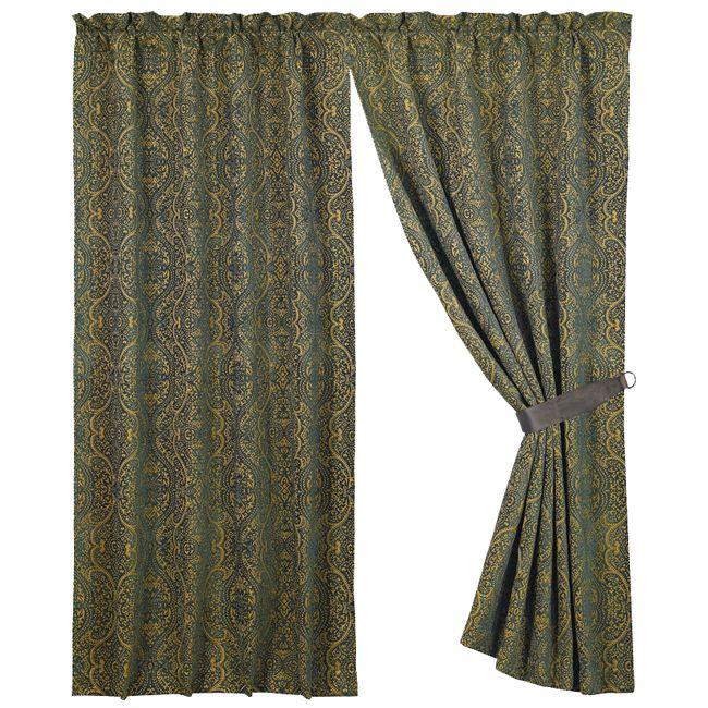 Bella Vista Chenille Curtain