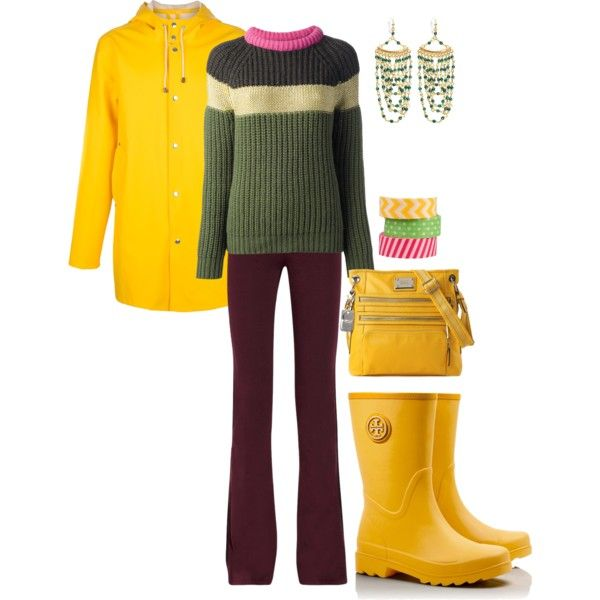 """Rain Boots"" by maggie-johnston on Polyvore"