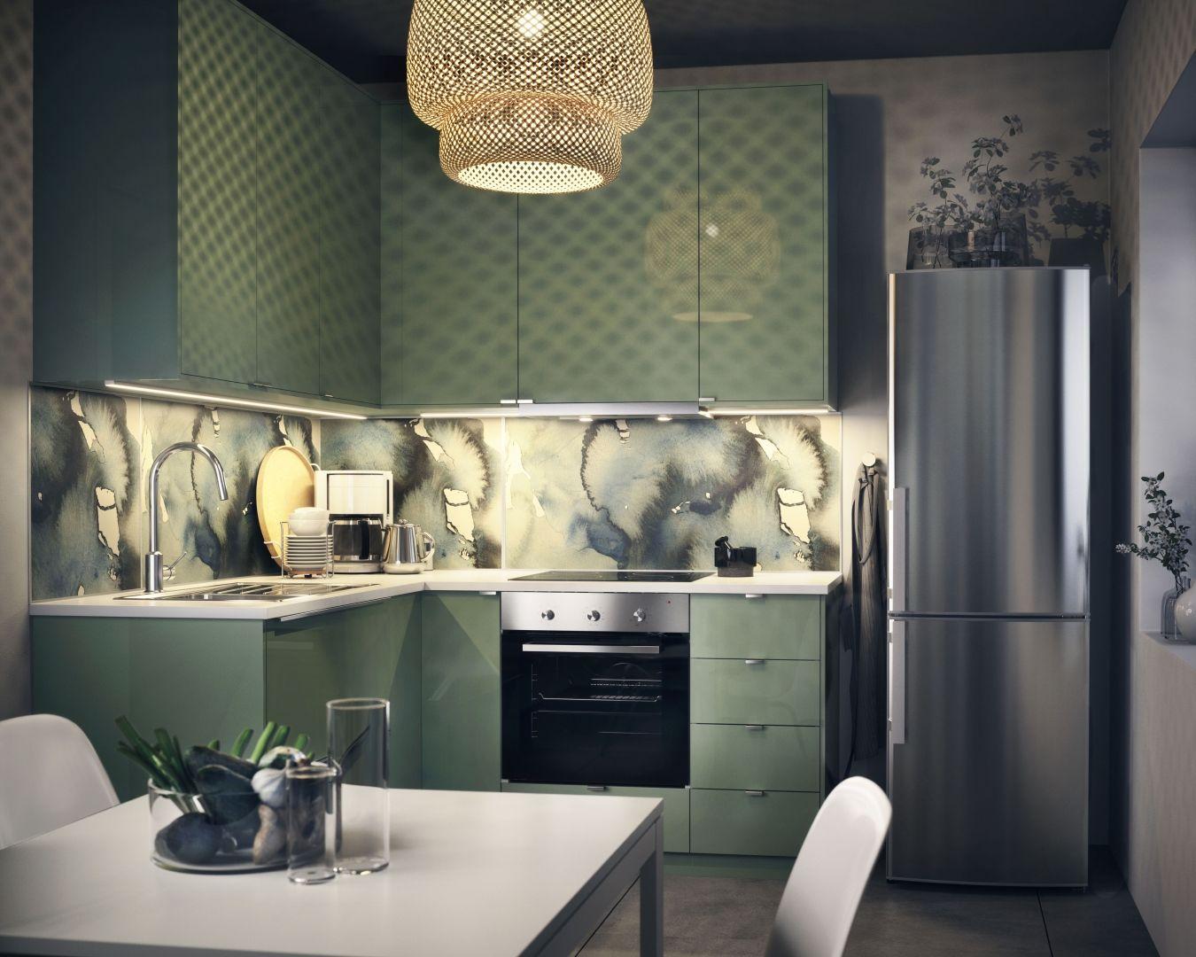 Ikea Küche Kallarp Grün
