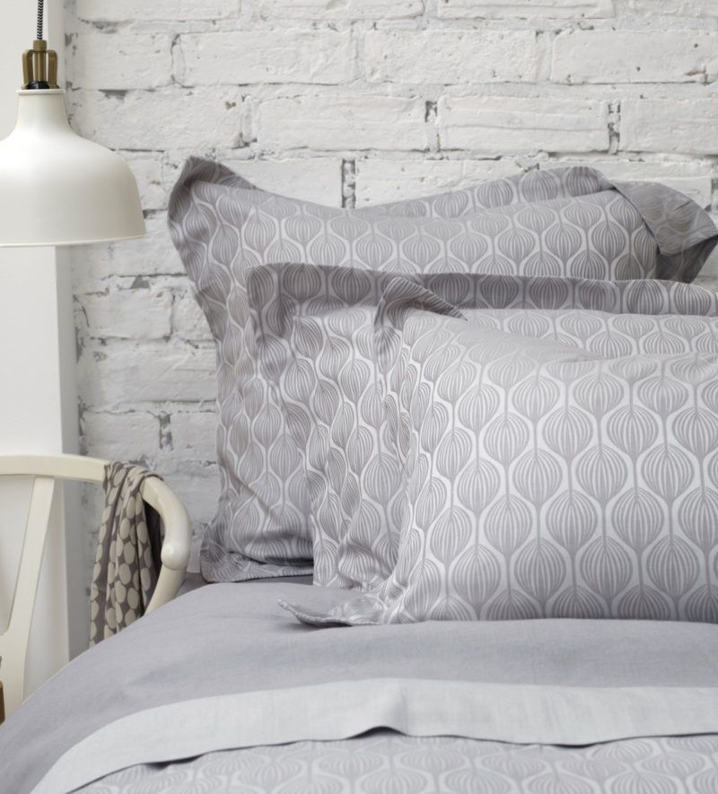 Teasels Dove Grey Bed Linen 100 Cotton Secret Linen Store