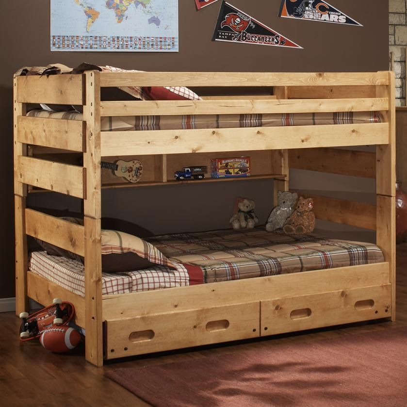 Rustic Bunk Beds For A Western Look Rustic Western