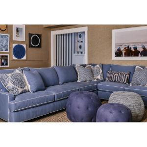 3973 Series Sectional Series At Lee Industries In 2020 Living Room Sofa Design Purple Living Room Sofas Living Room Leather