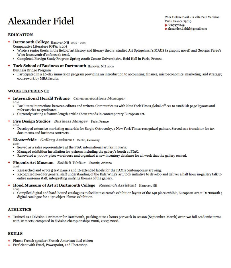 General cover letter seeking employment General Cover Letter - harvard resume format