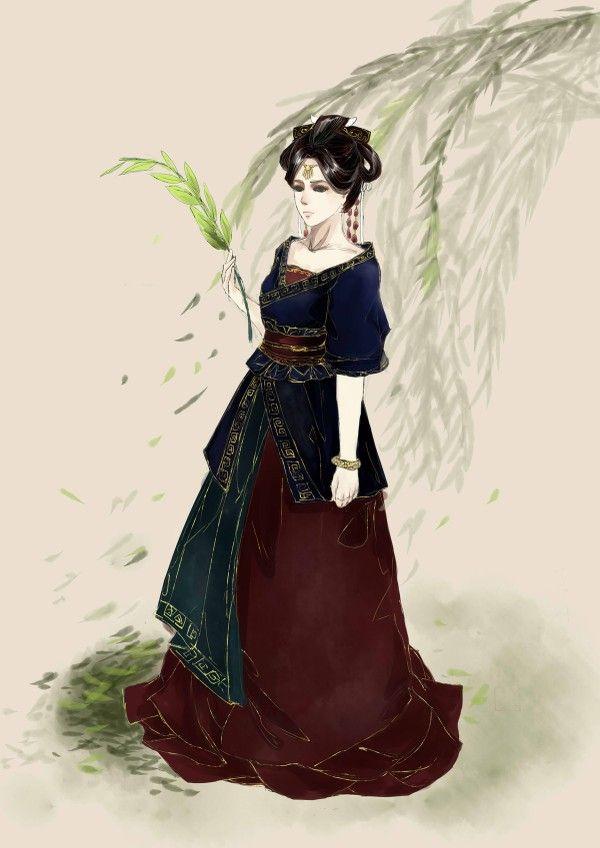 Manga Drawing Girls Chinese Hairstyles Fantasy Characters Art Samurai Asian Beauty Anime