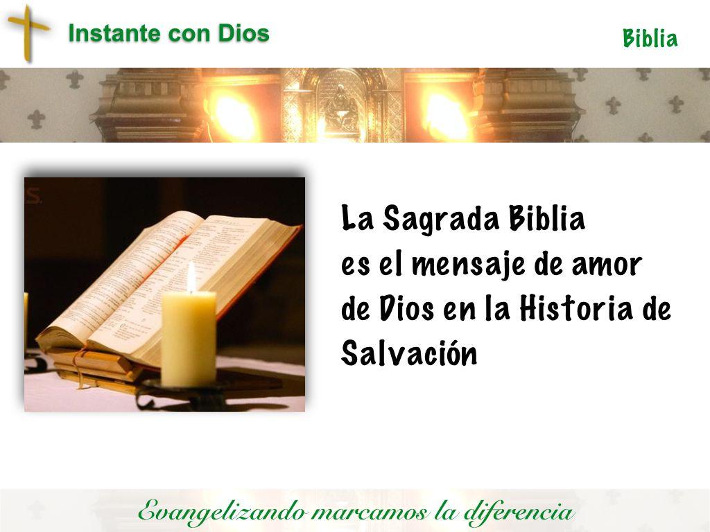 Historia de Salvación que se convierte en alimento de vida espiritual
