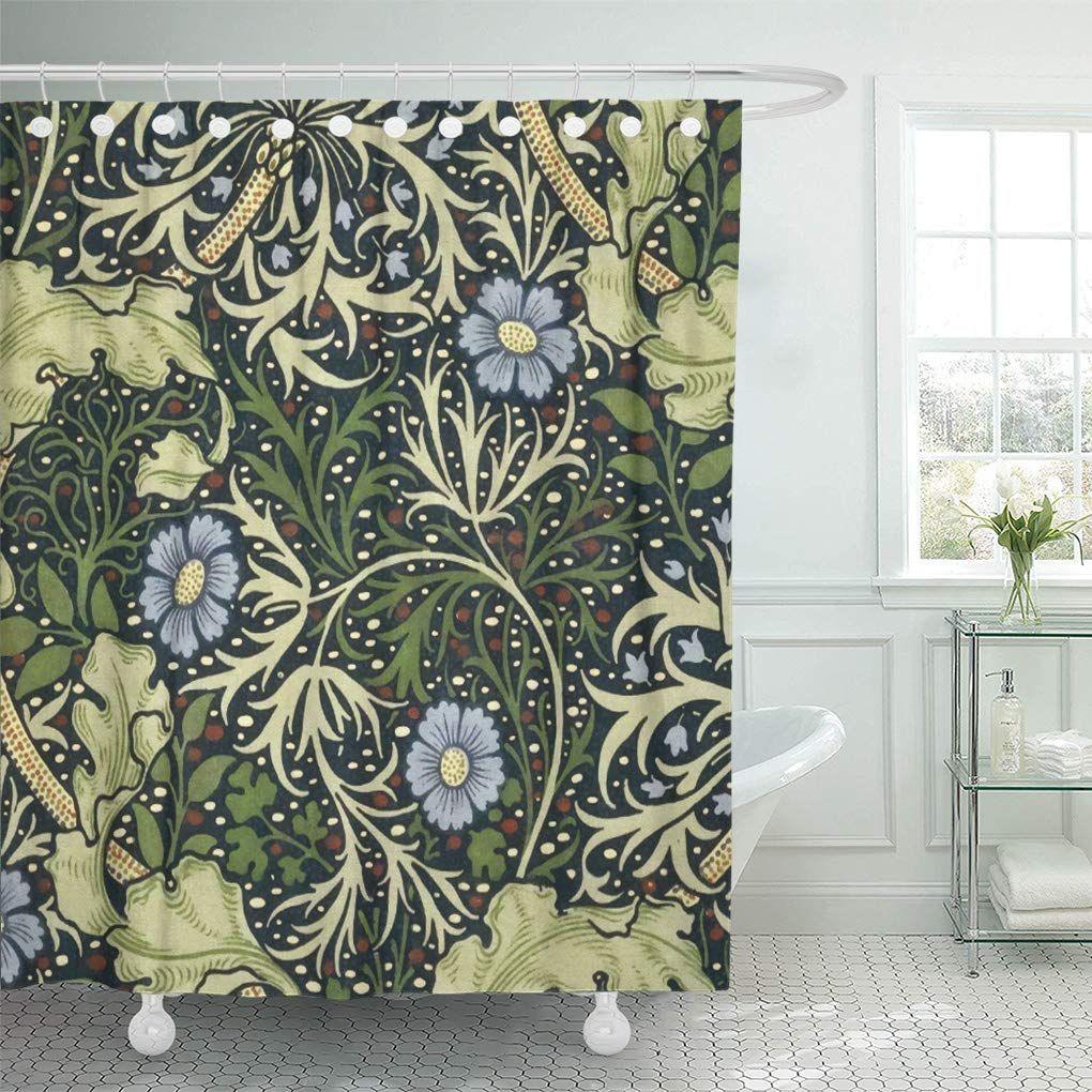 walmart floral shower curtain