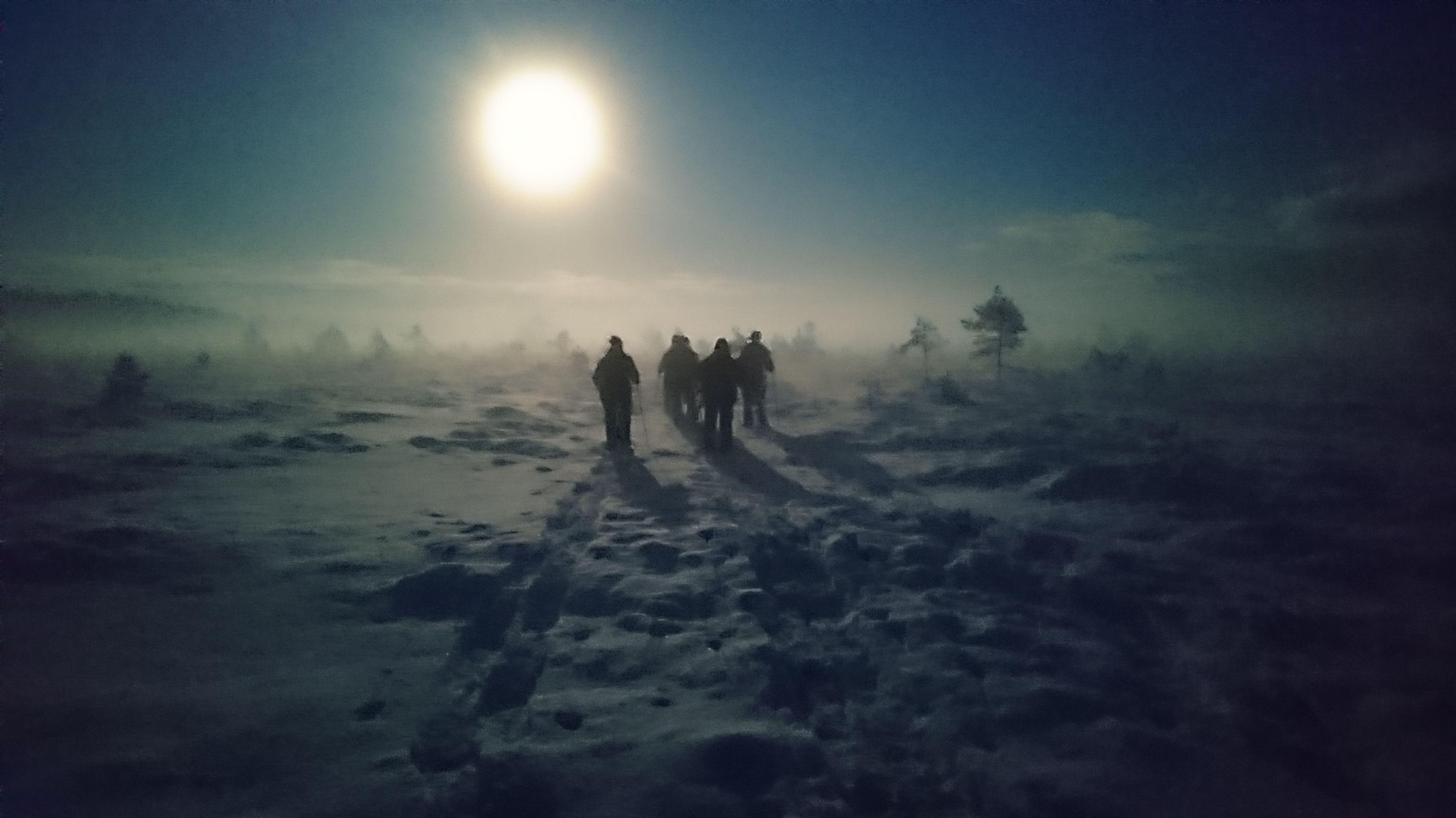 Lähde lumikenkäretkelle Torronsuon kansallispuistoon!  #torronsuo #kansallispuisto #nationalpark #suoluonto #erärenki #tammela
