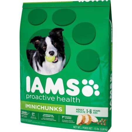 Iams Proactive Health Adult Minichunks Dry Dog Food Dog Food