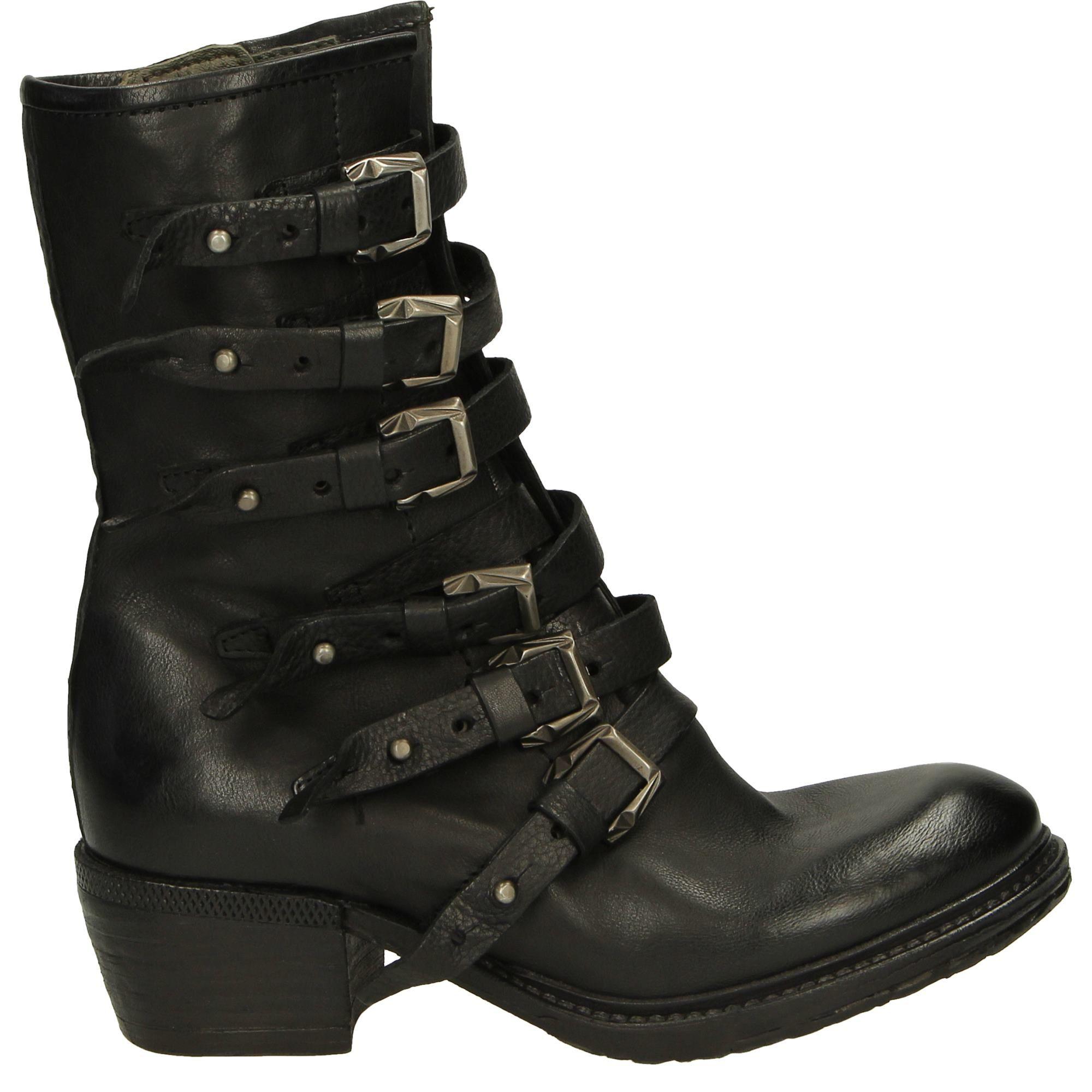 Botki 718202 Nero Shoes Me Too Shoes Biker Boot